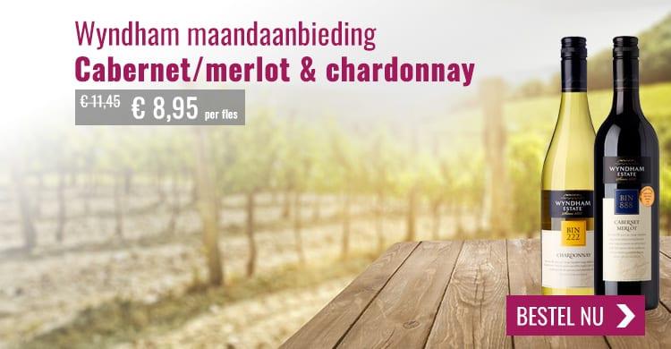 Wijnspecialist Wyndham wijn kopen aanbieding