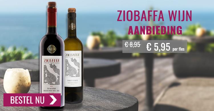 Ziobaffa wijn aanbieding