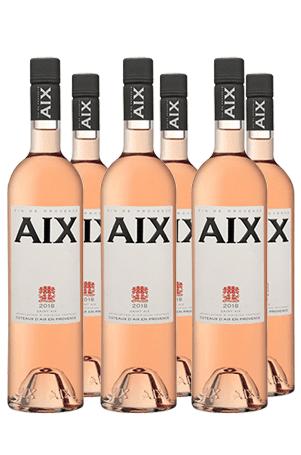 aix rosé 6 flessen