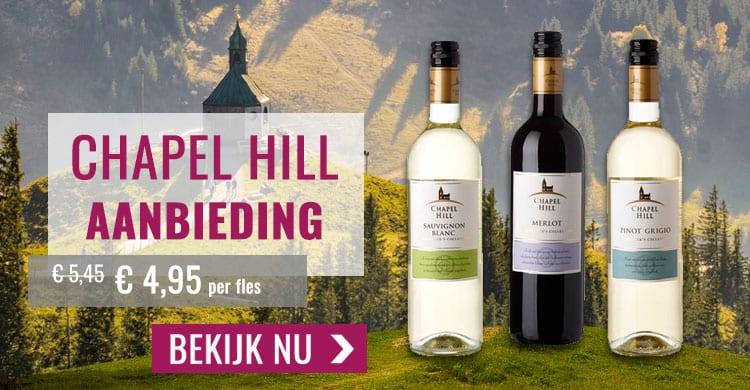 Wijnspecialist aanbieding Chapel Hill