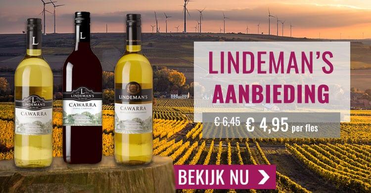 Wijnspecialist aanbieding Lindeman's
