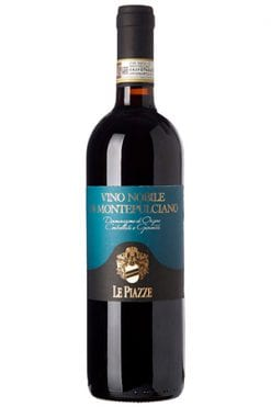 Le piazze vino nobile montepulciano