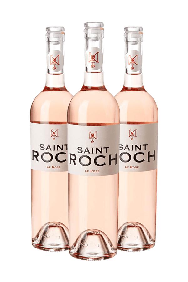 Saint Roch Le Rosé – 3 flessen