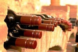 Gekoelde rode wijn