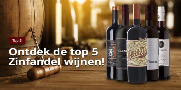 Top 5 Zinfandel   Wijnspecialist