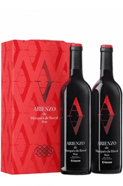 Marqués de Riscal, Arienzo Rioja Crianza 2-pack gift