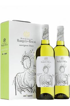 Marqués de Riscal, Rueda Sauvignon Blanc Organic 2-pack gift