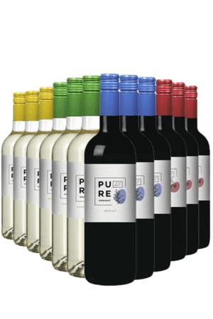 Pure Organic - proefpakket 12 flessen