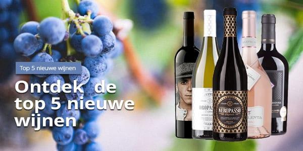 Top 5 nieuwe wijnen | Wijnspecialist