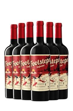 Footsteps Zinfandel Reserve | 6 flessen | Wijnspecialist